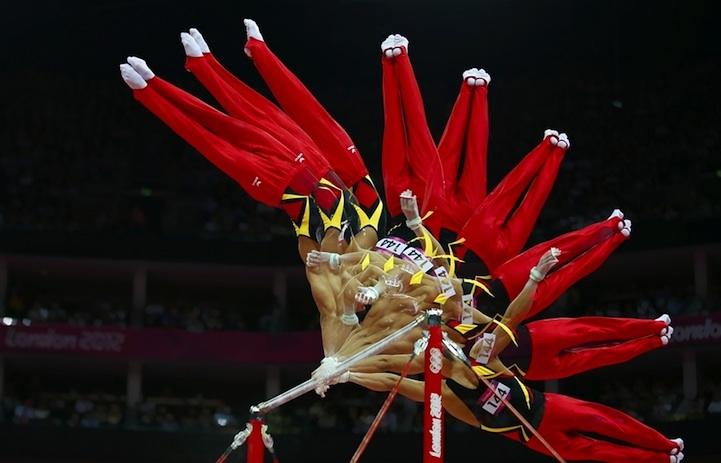 【攝影蟲】令人耳目一新的奧運会多重曝光照片_图1-2