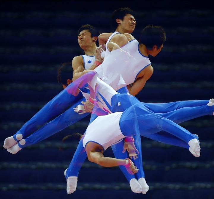 【攝影蟲】令人耳目一新的奧運会多重曝光照片_图1-5