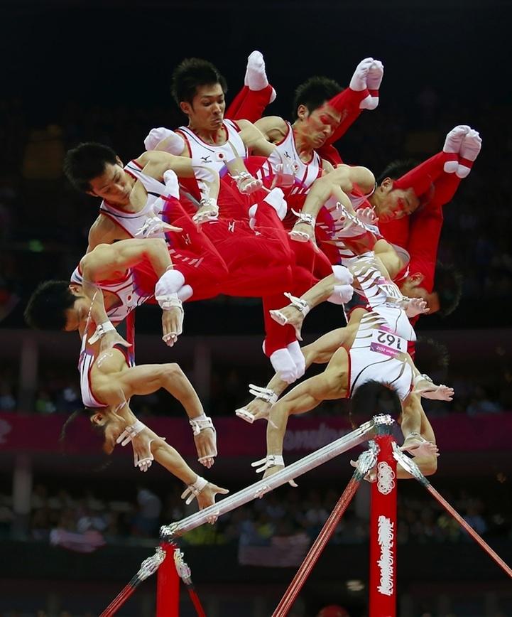 【攝影蟲】令人耳目一新的奧運会多重曝光照片_图1-1