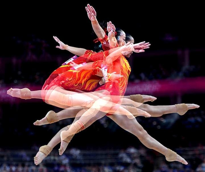 【攝影蟲】令人耳目一新的奧運会多重曝光照片_图1-6