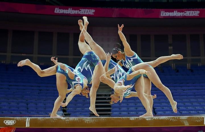 【攝影蟲】令人耳目一新的奧運会多重曝光照片_图1-7