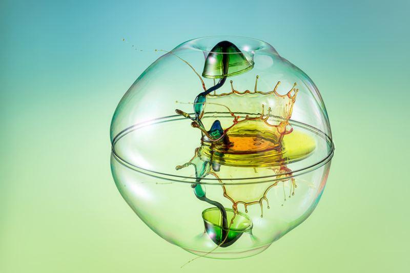 【攝影蟲】令人神暈顛倒的水滴攝影__Markus Reugels_图1-6