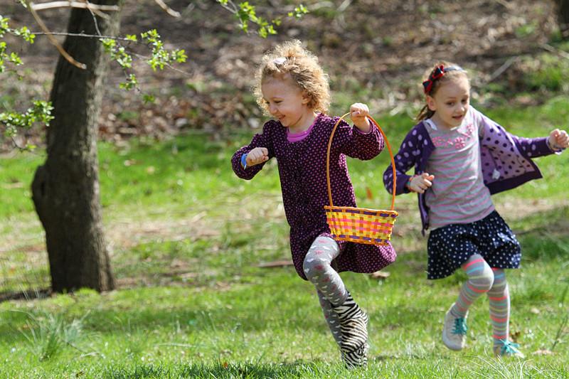 皇后植物园「复活节寻蛋」小孩