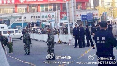 突发:新疆乌鲁木齐火车站发生爆炸