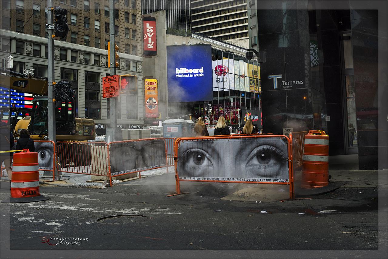 《淡入淡没》之九 纽约街头_图1-18