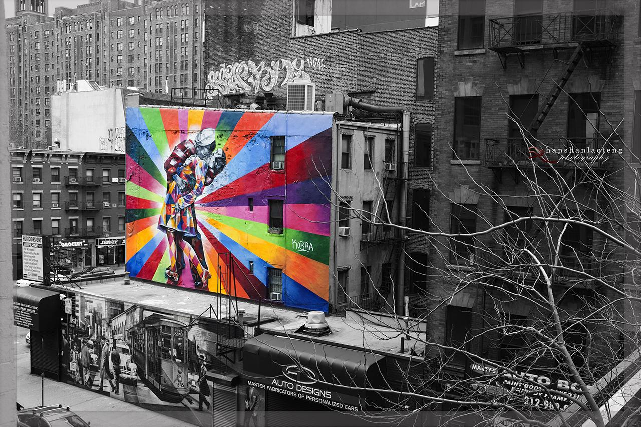 《淡入淡没》之九 纽约街头_图1-11