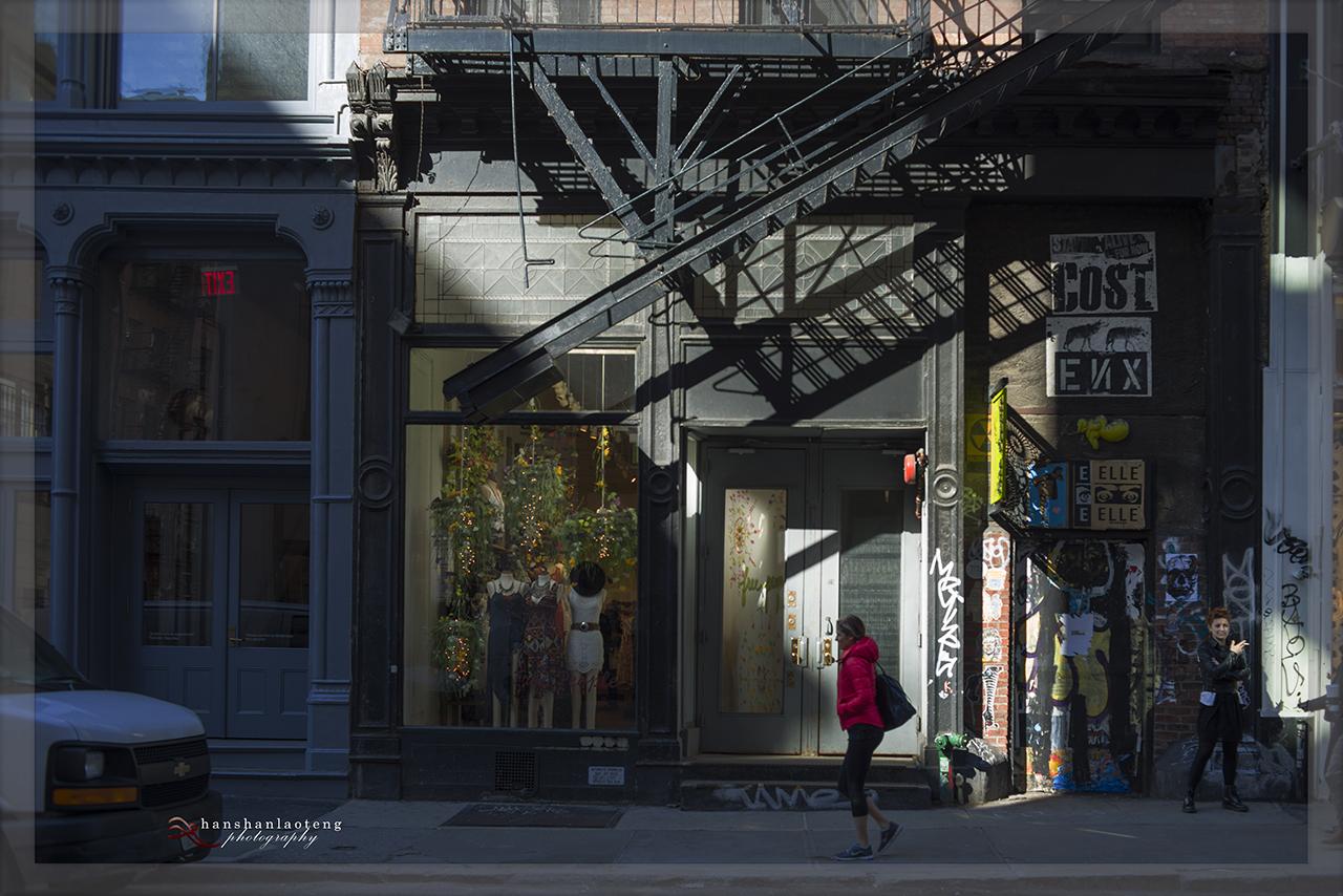 《淡入淡没》之九 纽约街头_图1-20