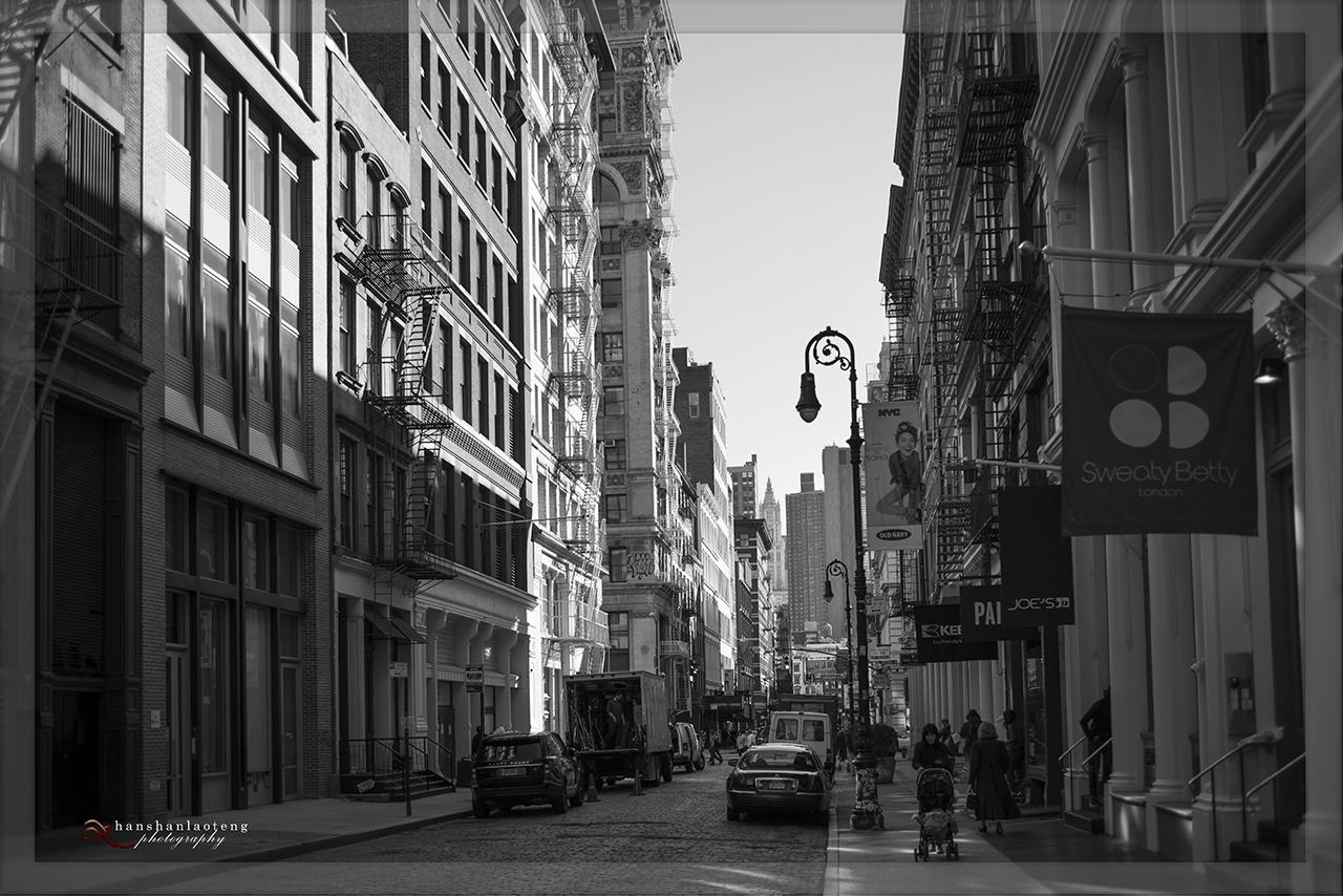 《淡入淡没》之九 纽约街头_图1-21