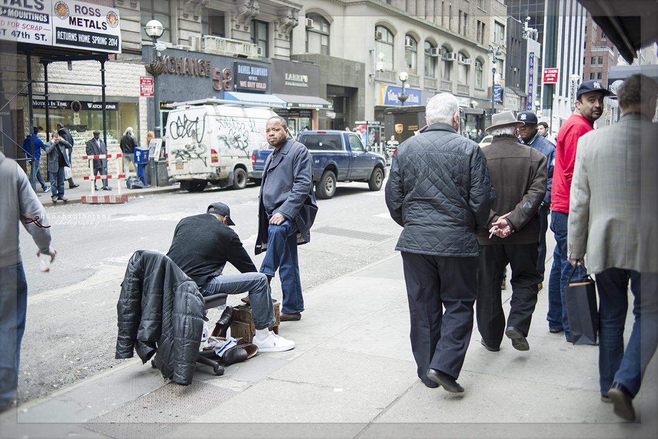 《淡入淡没》之九 纽约街头_图1-23