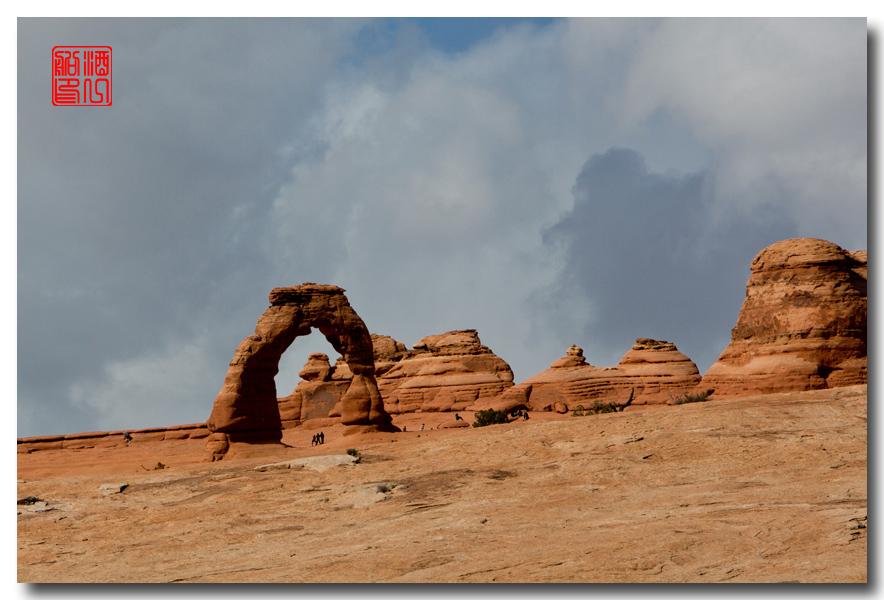 《酒一船》:雪山遥映拱门红 - 西行大环圈之二_图1-7