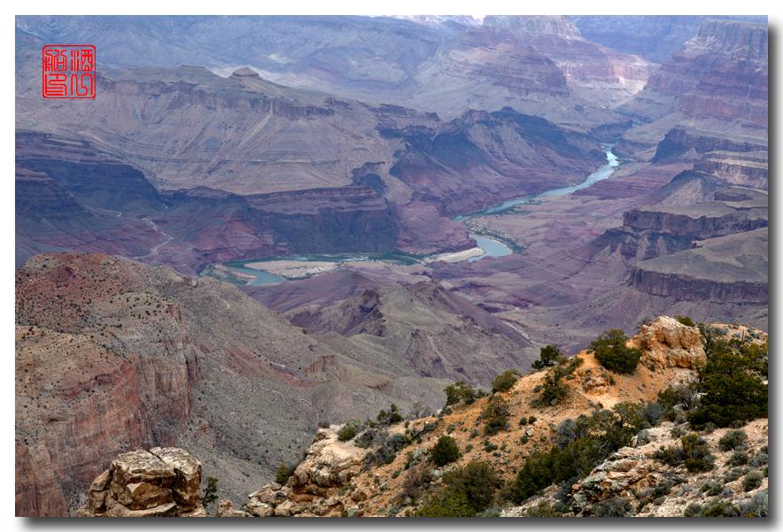 《酒一船》:大峡谷的阴晴雾雪晨昏 — 西行大环圈之四_图1-2