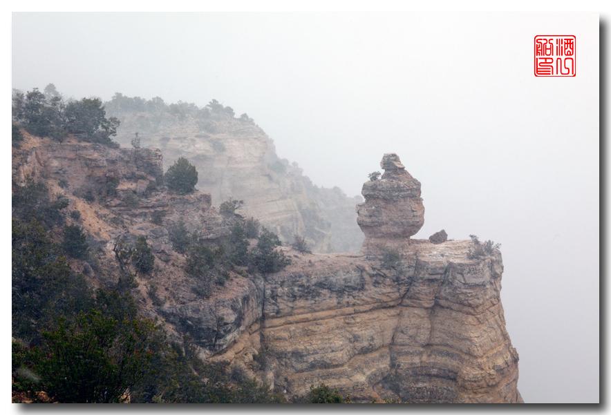 《酒一船》:大峡谷的阴晴雾雪晨昏 — 西行大环圈之四_图1-7