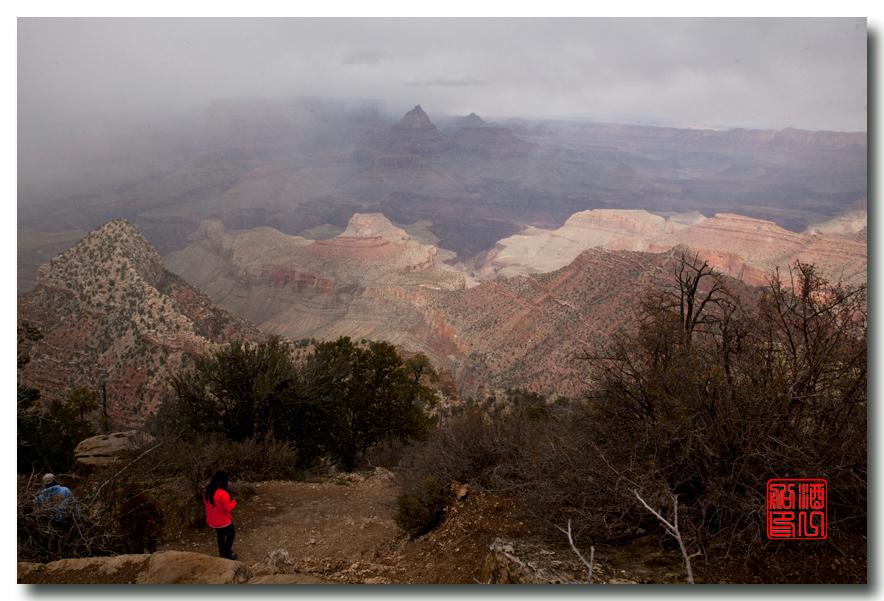 《酒一船》:大峡谷的阴晴雾雪晨昏 — 西行大环圈之四_图1-8
