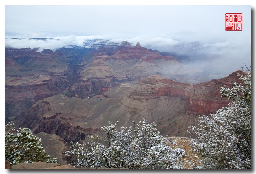 《酒一船》:大峡谷的阴晴雾雪晨昏 — 西行大环圈之四_图1-11