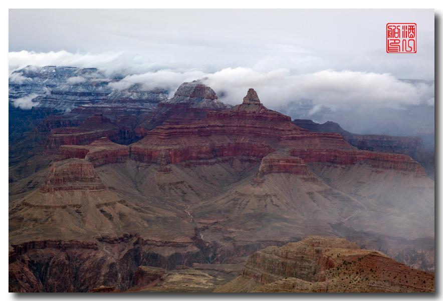 《酒一船》:大峡谷的阴晴雾雪晨昏 — 西行大环圈之四_图1-12