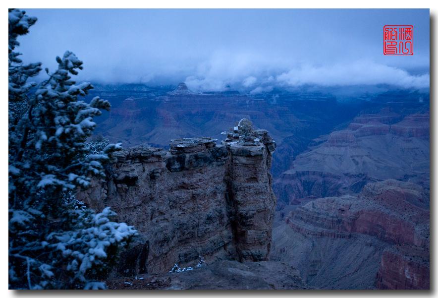 《酒一船》:大峡谷的阴晴雾雪晨昏 — 西行大环圈之四_图1-13