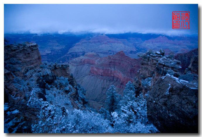 《酒一船》:大峡谷的阴晴雾雪晨昏 — 西行大环圈之四_图1-14