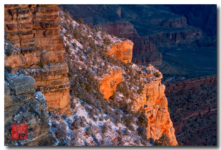《酒一船》:大峡谷的阴晴雾雪晨昏 — 西行大环圈之四_图1-16
