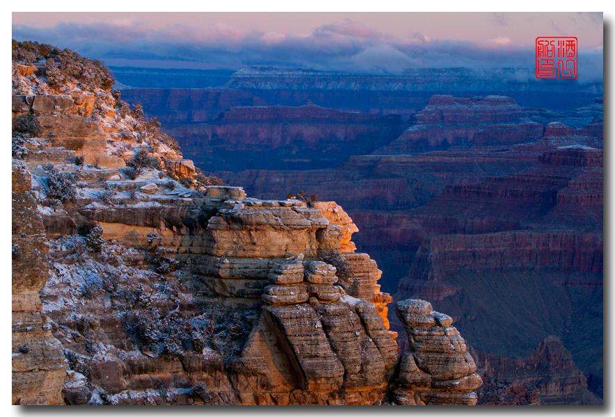 《酒一船》:大峡谷的阴晴雾雪晨昏 — 西行大环圈之四_图1-15