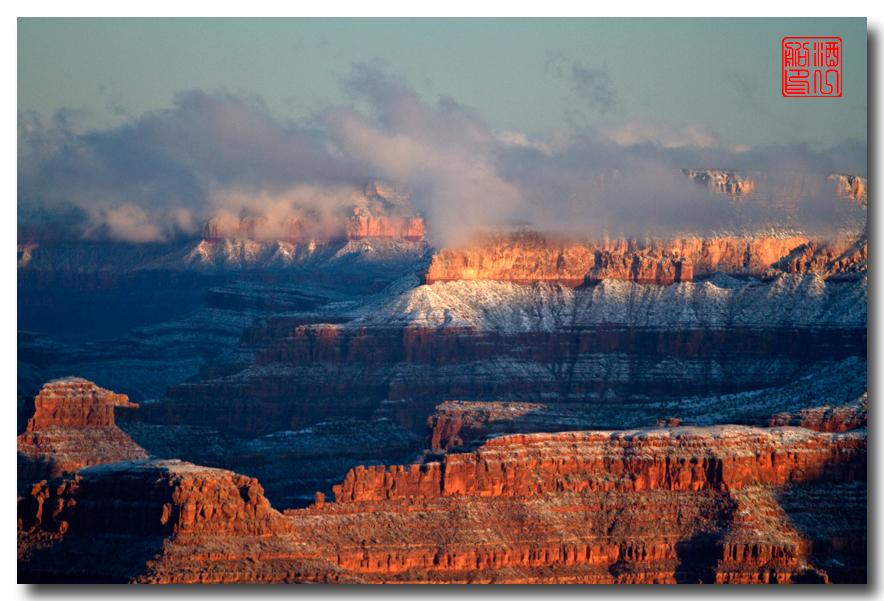 《酒一船》:大峡谷的阴晴雾雪晨昏 — 西行大环圈之四_图1-18