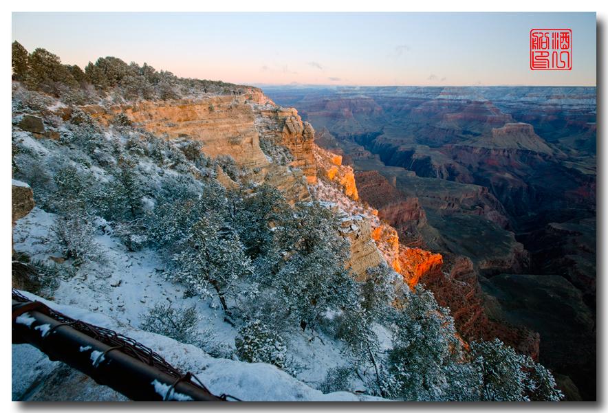 《酒一船》:大峡谷的阴晴雾雪晨昏 — 西行大环圈之四_图1-17