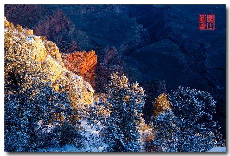 《酒一船》:大峡谷的阴晴雾雪晨昏 — 西行大环圈之四_图1-22