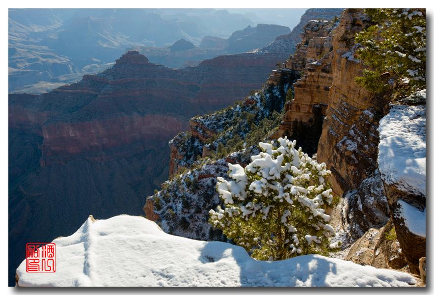 《酒一船》:大峡谷的阴晴雾雪晨昏 — 西行大环圈之四_图1-24