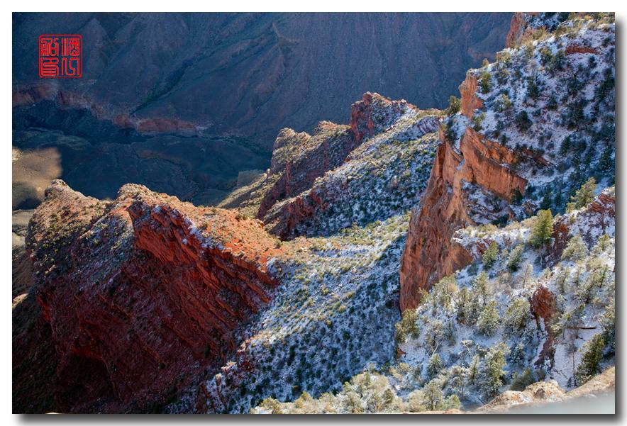 《酒一船》:大峡谷的阴晴雾雪晨昏 — 西行大环圈之四_图1-23