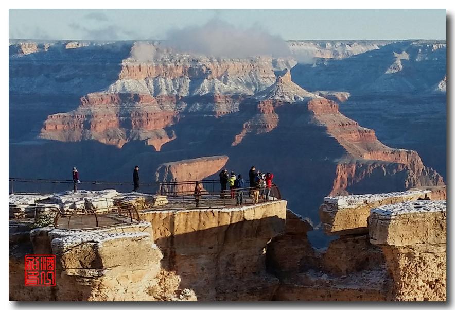 《酒一船》:大峡谷的阴晴雾雪晨昏 — 西行大环圈之四_图1-27