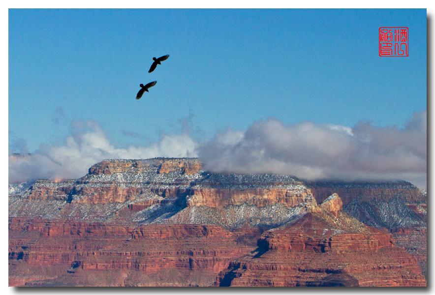 《酒一船》:大峡谷的阴晴雾雪晨昏 — 西行大环圈之四_图1-28