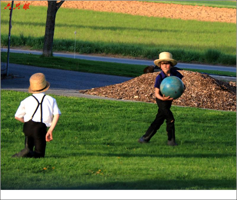 六只眼:阿米什的孩子玩什么_图1-2