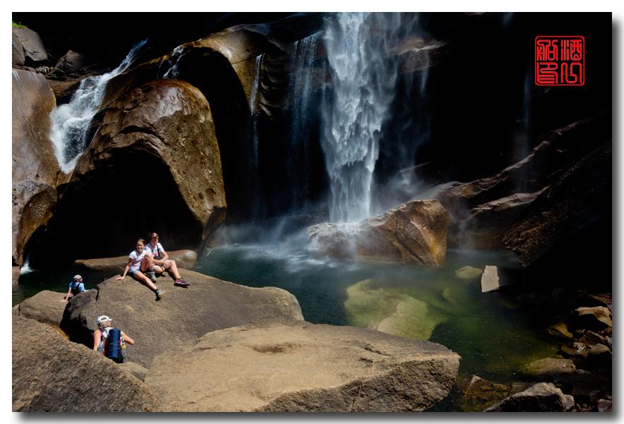 《酒一船》:优胜美地之水 — Vernal 瀑布_图1-1