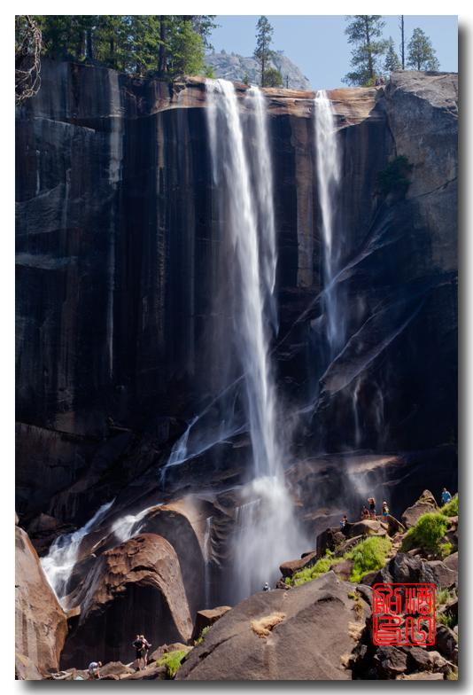 《酒一船》:优胜美地之水 — Vernal 瀑布_图1-4