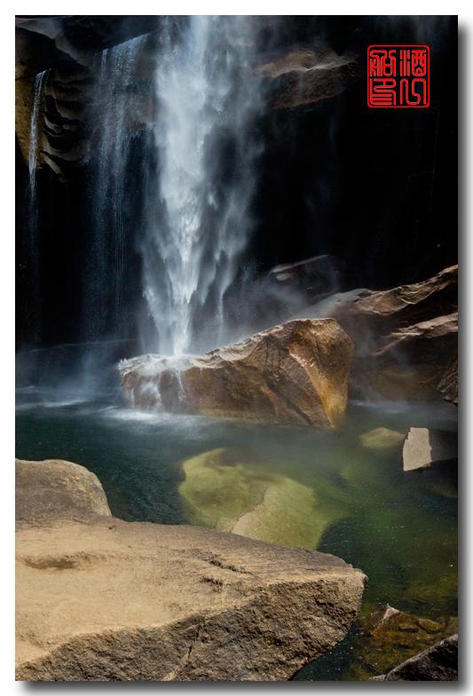 《酒一船》:优胜美地之水 — Vernal 瀑布_图1-23