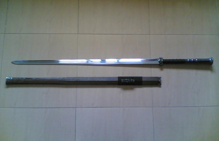 【武术健身】我的双手剑_图1-1