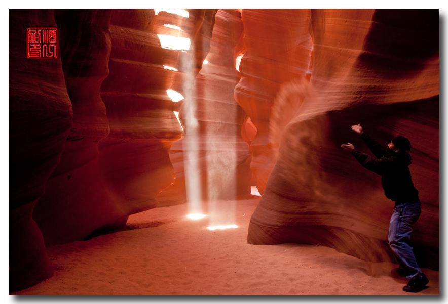 《酒一船》:羚羊谷里沙尘暴 - 西行大环圈之五_图1-3