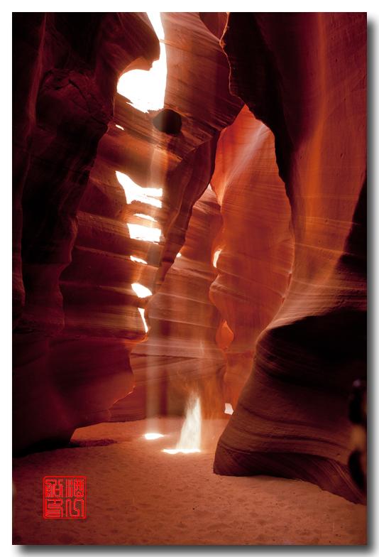 《酒一船》:羚羊谷里沙尘暴 - 西行大环圈之五_图1-6