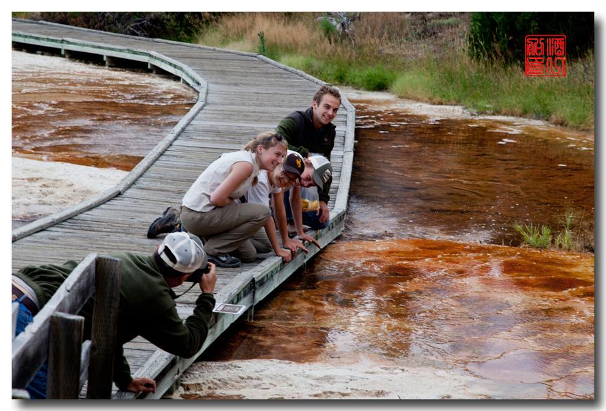 《酒一船摄影》:黄石公园的猛犸热泉区_图1-6