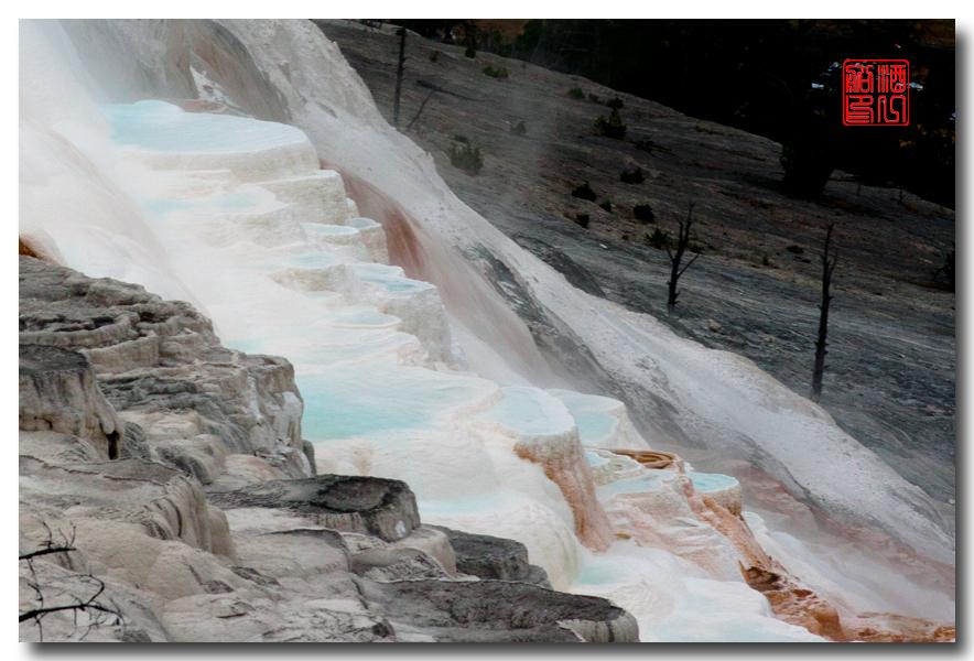《酒一船摄影》:黄石公园的猛犸热泉区_图1-10