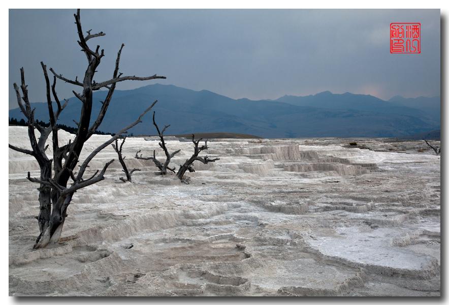 《酒一船摄影》:黄石公园的猛犸热泉区_图1-19