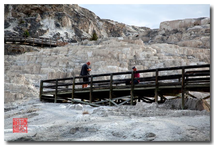 《酒一船摄影》:黄石公园的猛犸热泉区_图1-20