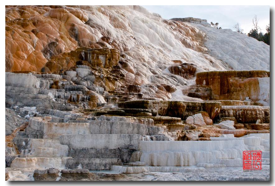 《酒一船摄影》:黄石公园的猛犸热泉区_图1-21