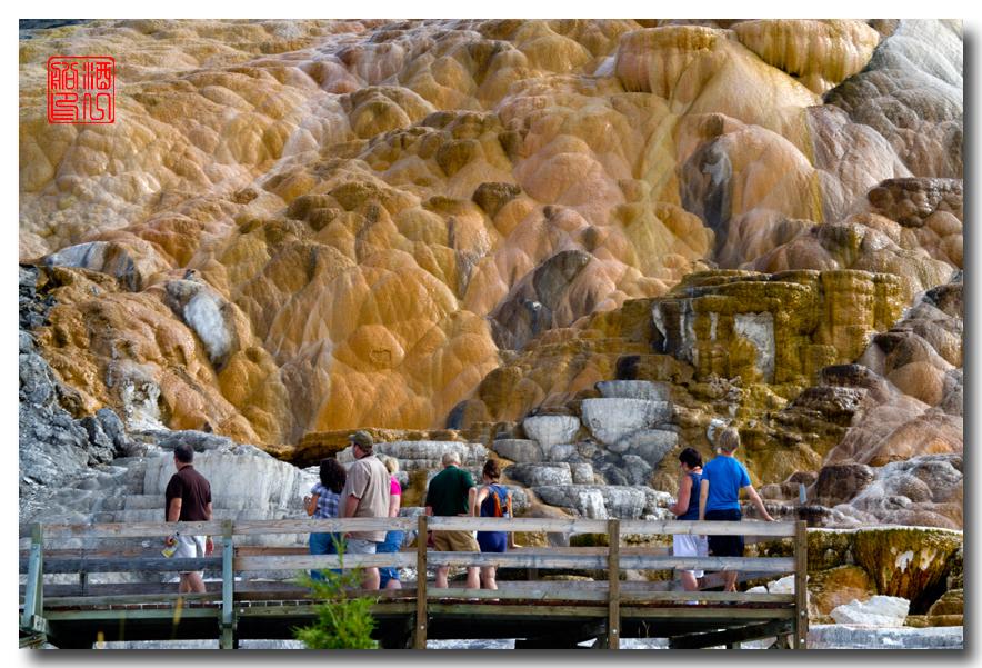 《酒一船摄影》:黄石公园的猛犸热泉区_图1-24