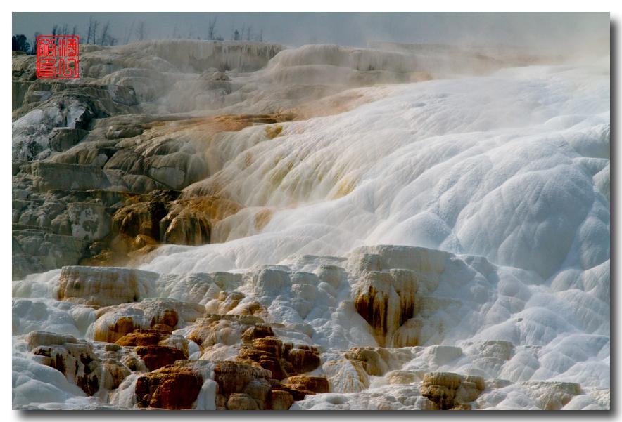 《酒一船摄影》:黄石公园的猛犸热泉区_图1-29