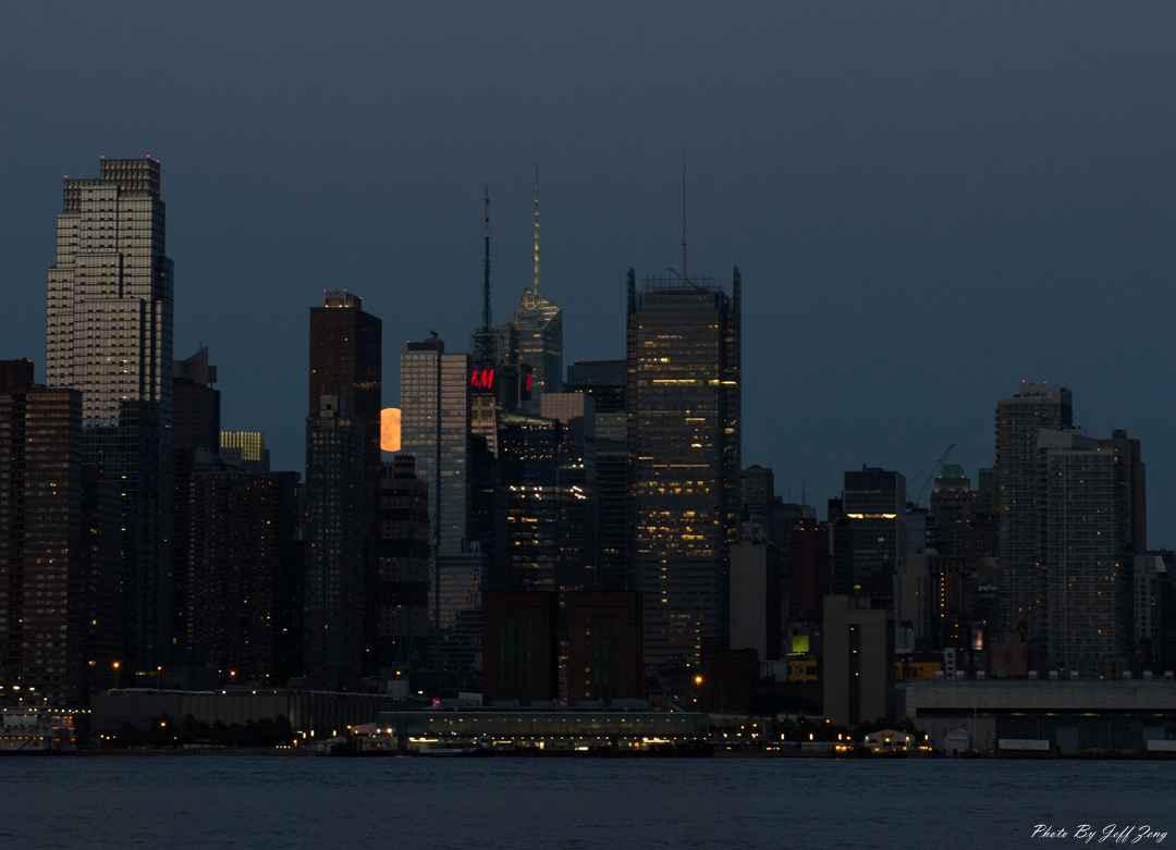 超级月亮在纽约 Super Moon @ NY_图1-8