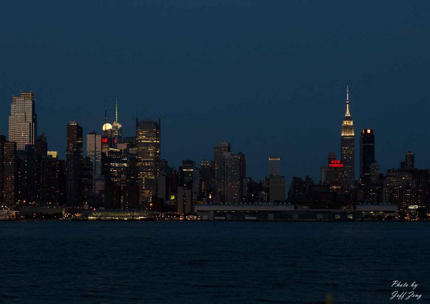 超级月亮在纽约 Super Moon @ NY_图1-9