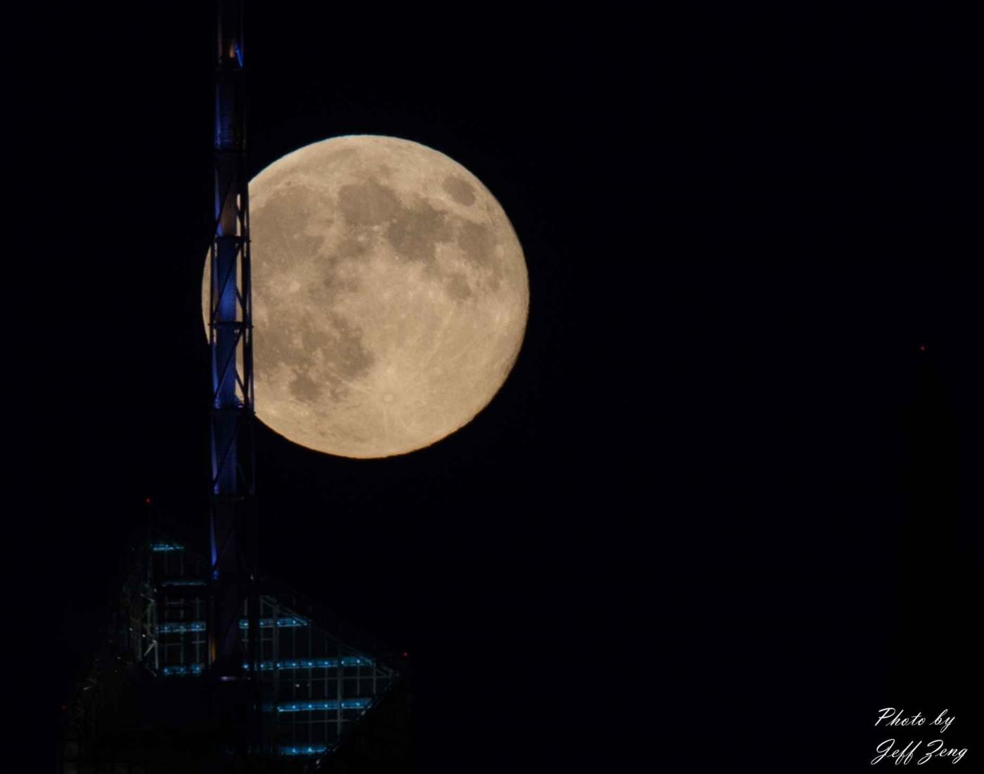 超级月亮在纽约 Super Moon @ NY_图1-5