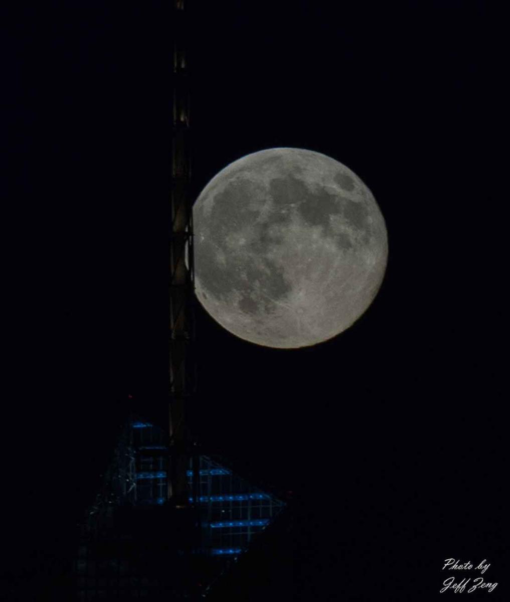 超级月亮在纽约 Super Moon @ NY_图1-6