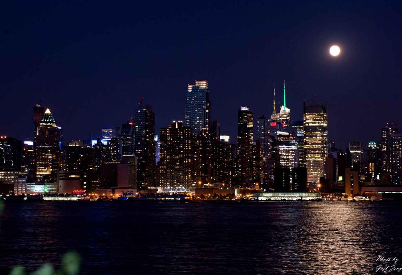 超级月亮在纽约 Super Moon @ NY_图1-7