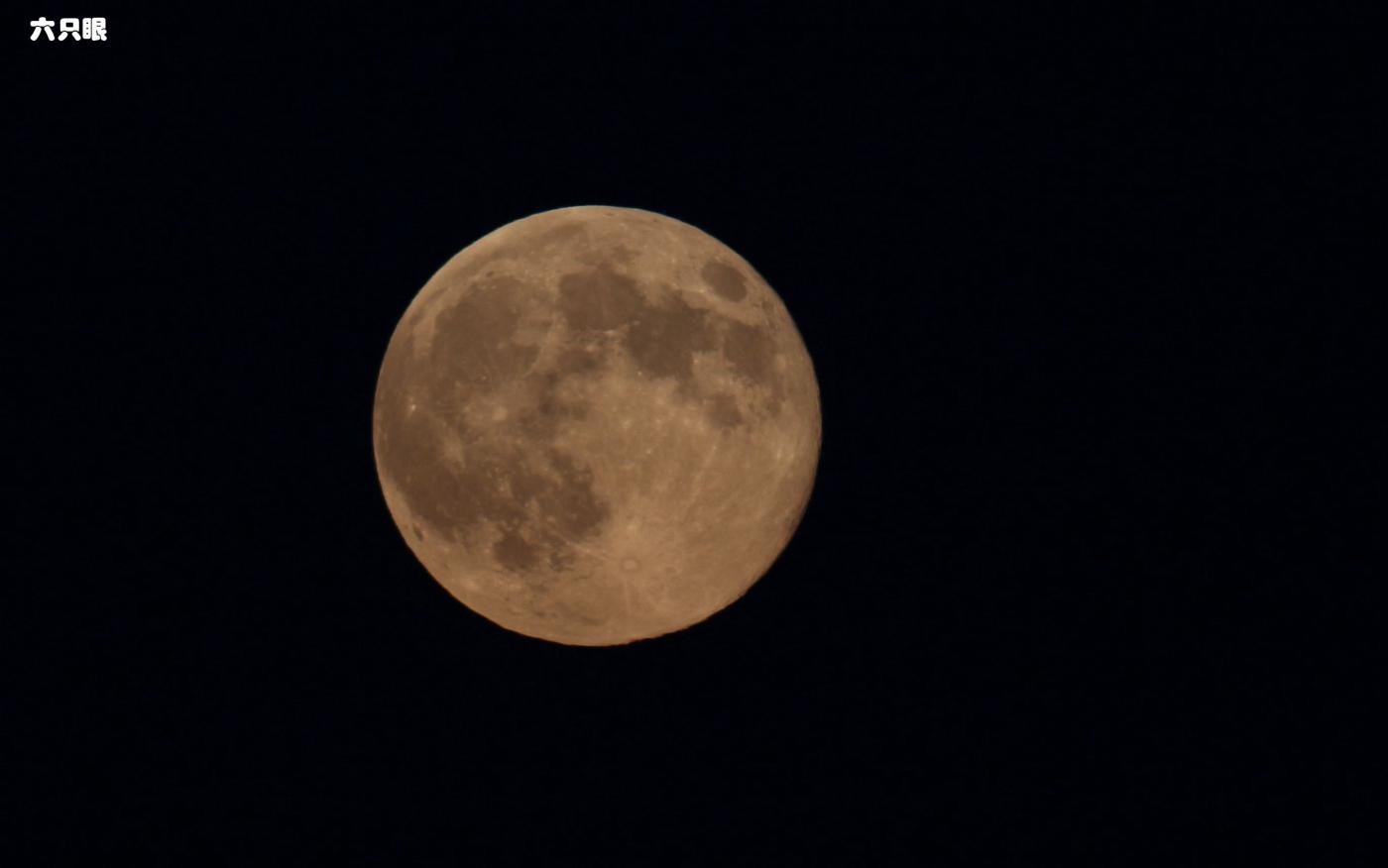 六只眼:试拍超级大月亮_图1-2